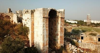 اكتشاف حمام أثري بمرسين التركية يعود للقرن الرابع الميلادي