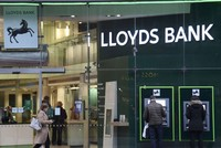 Lloyds Banking Group (LBG) announced soaring annual profits yesterday on lower charges linked to an insurance scandal, as it awaits a full return to the private sector following a state...