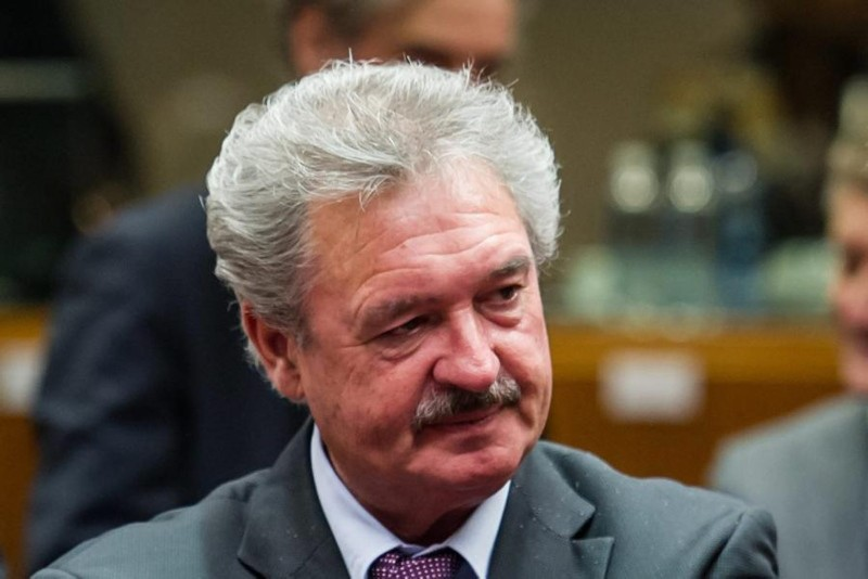 Photo shows Luxembourgish Foreign Minister Jean Asselborn. (FILE Photo)