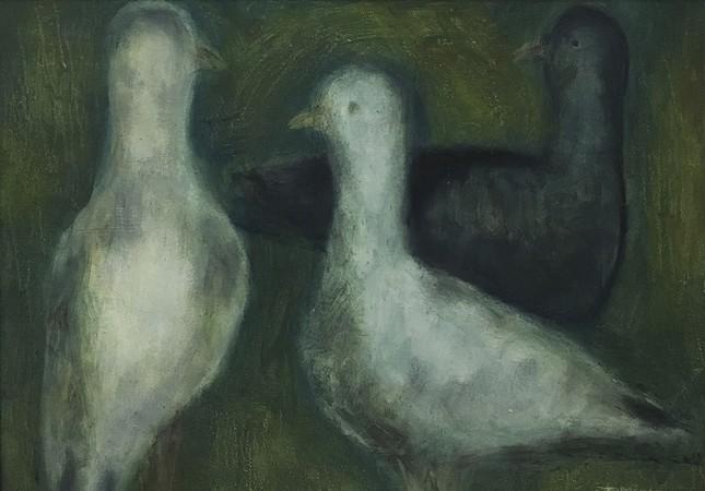Turgut Minez, oil on canvas