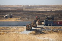 Turkey, US conduct 2nd safe zone joint patrol in northern Syria