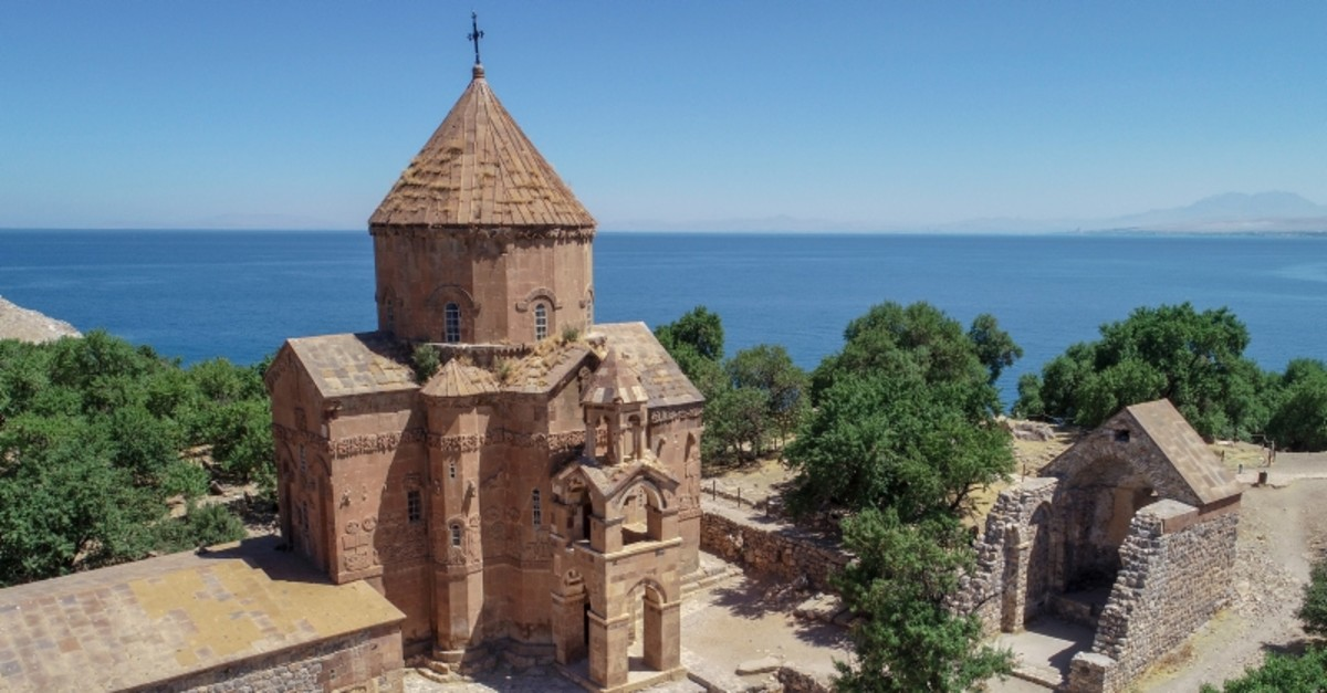 The Akdamar Church was opened for religious services in 2010 for an annual mass.