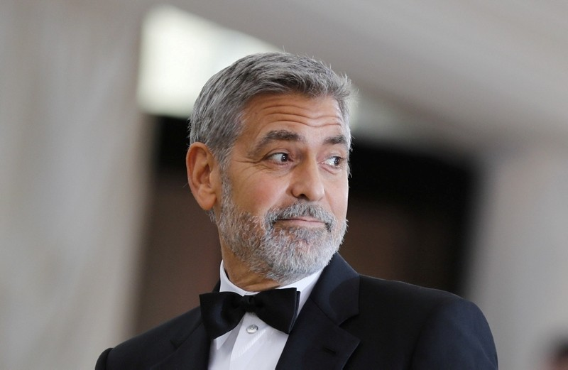 Actor George Clooney arrives at the Metropolitan Museum of Art Costume Institute Gala (Met Gala) to celebrate the opening of Heavenly Bodies: Fashion and the Catholic Imagination in the Manhattan borough of New York, May 7, 2018. (Reuters Photo)