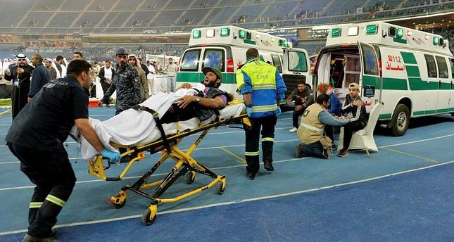 40 Verletzte bei Unfall in kuwaitischem Fußballstadion