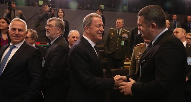 بدء أعمال اجتماع وزراء دفاع الناتو في بروكسل
