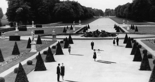 "A scene from ""L'annee derniere a Marienbad."""