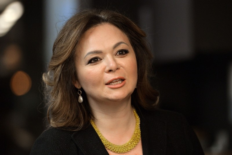In this file photo taken on November 8, 2016 shows Russian lawyer Natalia Veselnitskaya speaking during an interview in Moscow. (AFP Photo)