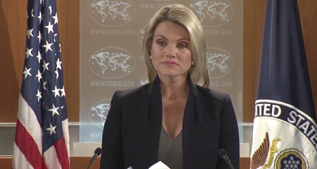 U.S. State Department spokeswoman Heather Nauert. (DHA Photo)