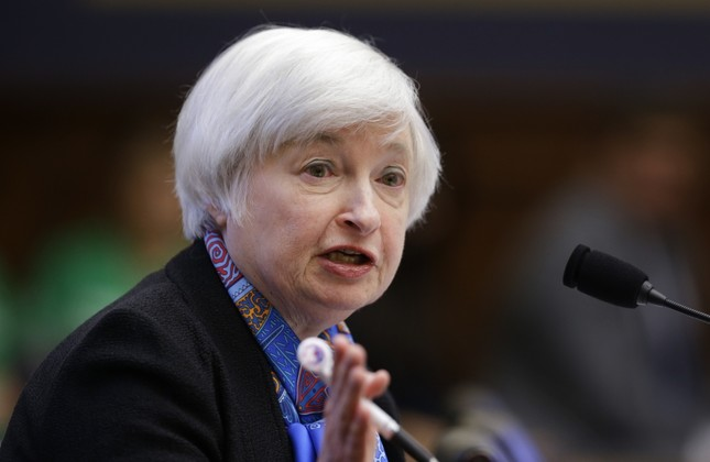 U.S. Federal Reserve Chair Janet Yelen