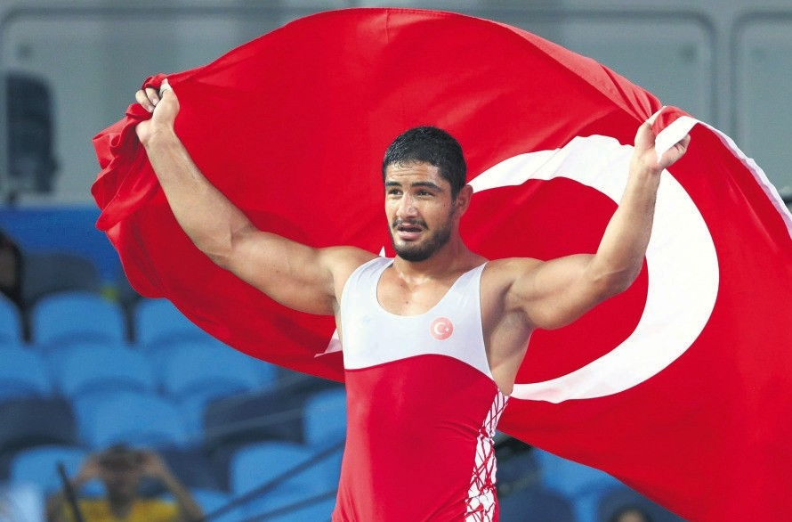 Taha Akgu00fcl has one Olympic, two world and five European titles to his name.