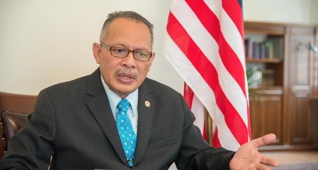 Malaysian ambassador to Turkey Abd Razak Abdul Wahab: Malaysia will help Turkey tackle FETÖ threat