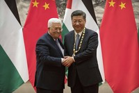 Building Israeli settlements on occupied Palestinian territories should be stopped immediately, President Xi Jinping said Tuesday.
