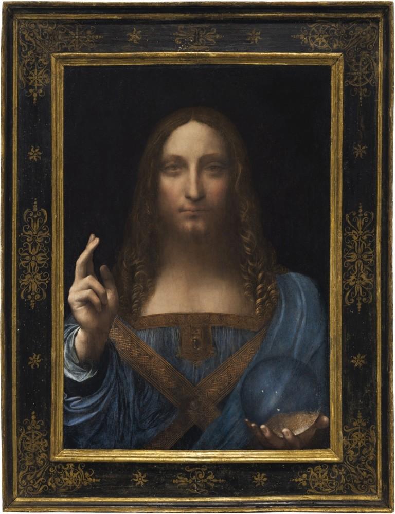 Leonardo Da Vinci's ,Salvator Mundi.,