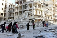 Assad presses on in Aleppo, attacks kill civilians
