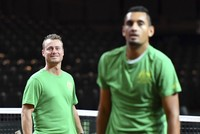 After a pause of five months, Davis Cup competition resumes at the semi-final stage today, with Australia travelling to Belgium, while depleted France host Serbia in Lille. Winners this weekend in...