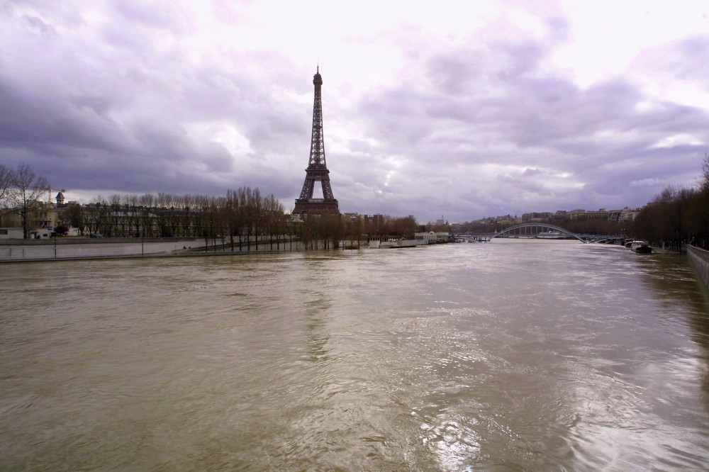 Scientists say flooding is a growing risk for cities, with Paris due for its next one-in-a-hundred-years flood.