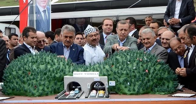 تركيا: الانتهاء من مرحلة الحفريات في أطول نفق في البلاد