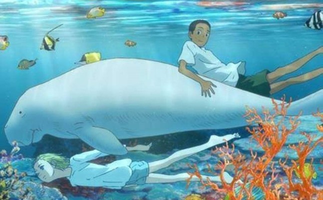 Umi and his brother Sora are raised by a dugong in the movie.