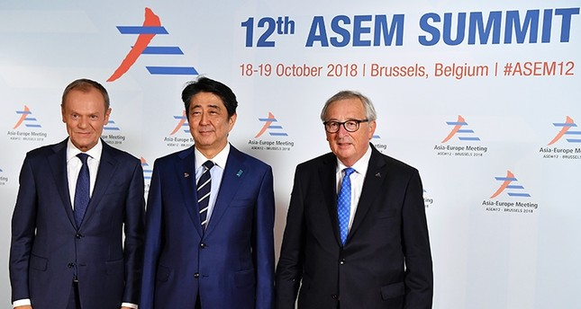 EU looks to boost Asian ties at Brussels summit