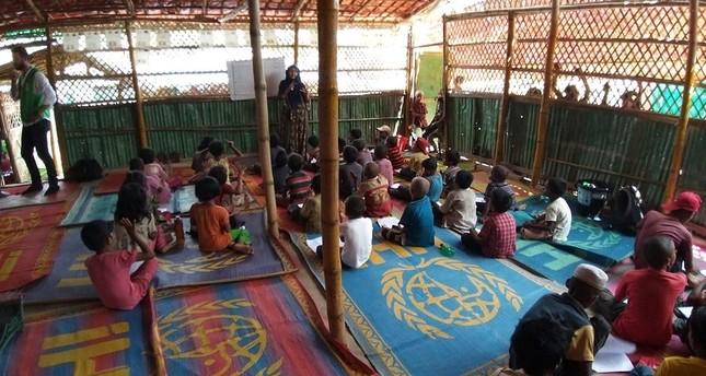 5 مراكز تعليمية تركية في بنغلاديش مخصصة لأبناء لاجئي الروهنغيا