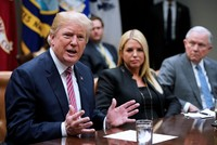 Trump proposes bonuses for armed, trained teachers