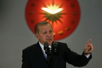 Turkey will not stay silent on a terror state being founded in northern Syria, Erdoğan says