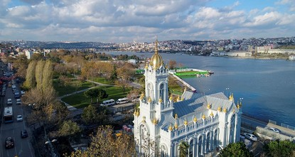 pIn a grand ceremony, leaders from Turkey and Bulgaria are expected to inaugurate Sveti Stefan, an iconic Bulgarian church on Istanbul's Golden Horn shore, this Sunday./p