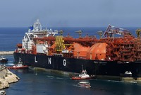 All single northbound Liquefied Natural Gas (LNG) tankers carrying gas from Qatar, which is currently experiencing diplomatic problems with some Gulf countries, are able to pass through the Red Sea...