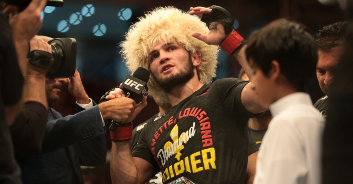 UFC 242 - Khabib Nurmagomedov v Dustin Poirier - Men's UFC Lightweight title - Yas Island, Abu Dhabi, United Arab Emirates - September 7, 2019 (Reuters Photo)