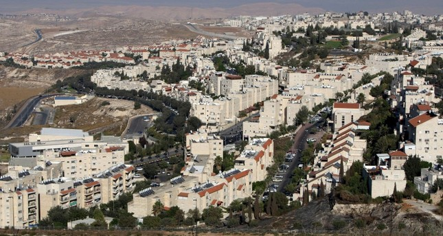 A picture shows a general view of the Jewish settlement of Pisgat Zeev in East Jerusalem on August 11, 2011. (AFP Photo)