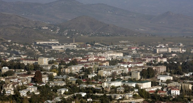 A general view shows Nagorno Karabakh's main city of Stepanakert, in this October 30, 2009 file photo. (Reuters Photo)
