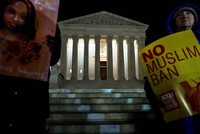 US begins fully implementing Trump travel ban as appeals court hears challenge