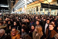Transport strikes leave French commuters stranded for days in pension protest