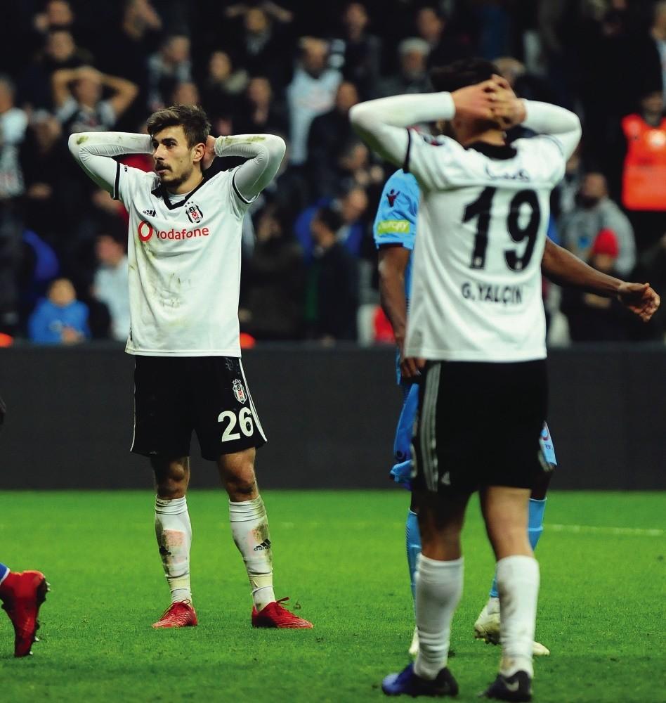 Beu015fiktau015fu2019 Gu00fcven Yalu00e7u0131n laments after a 2-2 draw with Trabzonspor on Sunday.