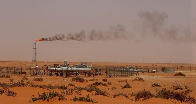 محطة ضخ تابعة لشركة أرامكو السعودية (من الأرشيف)