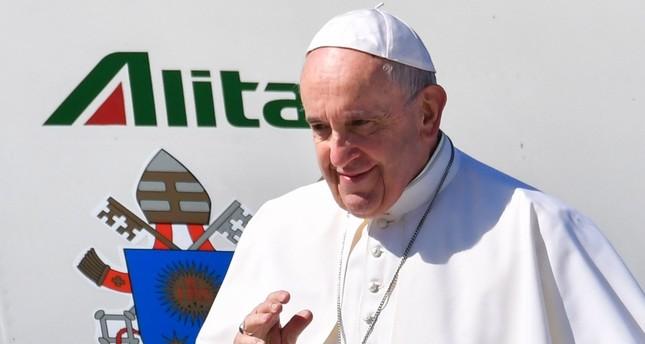 بابا الفاتيكان فرانسيس متوجها للمغرب اليوم (الفرنسية)