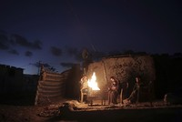 Egypt began on Wednesday to deliver a million liters of fuel to Gaza, a Palestinian official said, in an attempt to ease the Palestinian enclave's desperate electricity crisis.