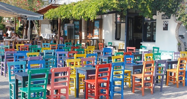 مقهى تركي تقليدي (من الأرشيف)