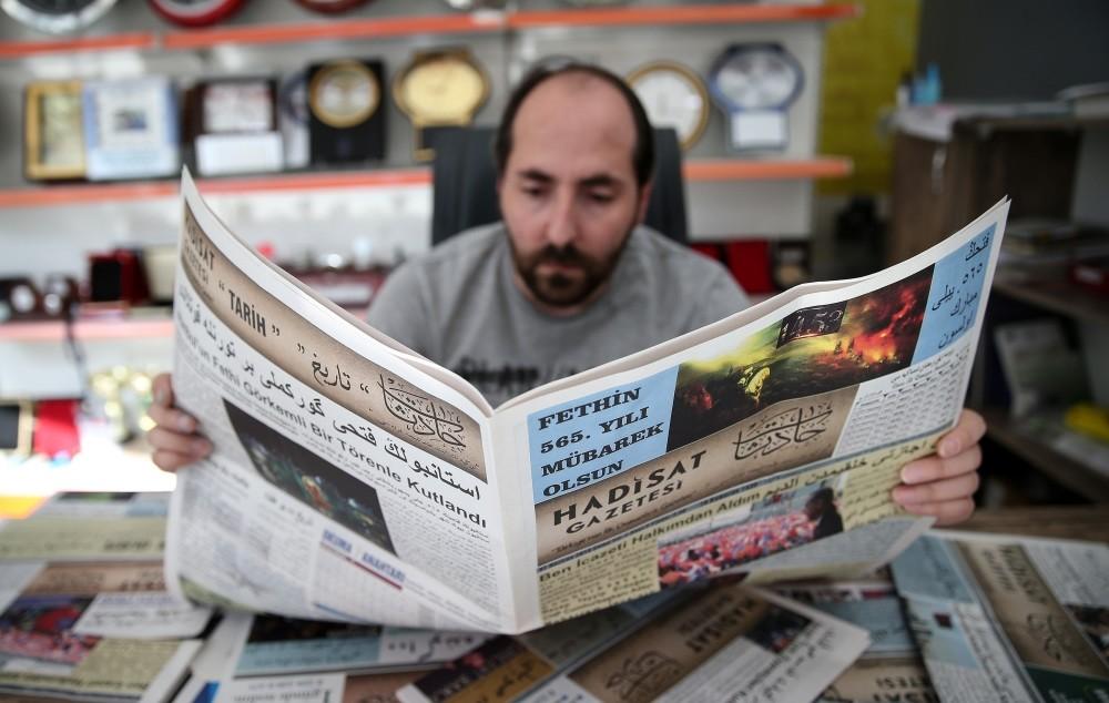 Hadisat Newspaper is printed on a weekly basis in Osmangazi, Bursa.