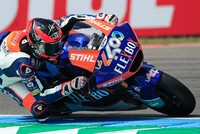 Fernandez claims Dutch Moto2 GP after Alex Marquez takes tumble