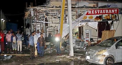 Al-Shabaab car bombings kill at least 17 in Somalia