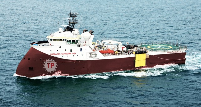 Turkish seismic vessel Barbaros Hayrettin Paşa carried out drilling operations both in the Mediterranean and Black Sea.