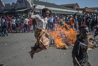 3 dead as violence erupts after Zimbabwe ruling party wins majority in parliament