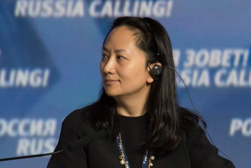 Meng Wanzhou, Executive Board Director of the Chinese technology giant Huawei, attends a session of the VTB Capital Investment Forum ,Russia Calling!, in Moscow, Russia October 2, 2014. Picture taken October 2, 2014. (Reuters Photo)