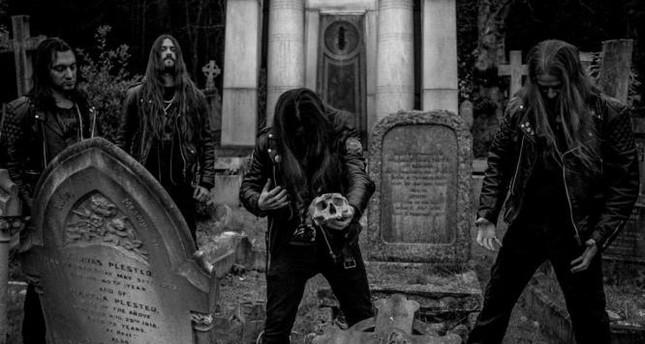 British death/black metal band Grave Miasma will perform for Turkish music lovers on Feb 23.