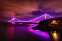 Istanbul's bridges shine purple on Int'l Epilepsy Day
