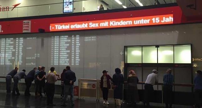 Wiener Flughafen entfernt Anti-Türkei-Propaganda nach Maßnahmen des Außenministeriums