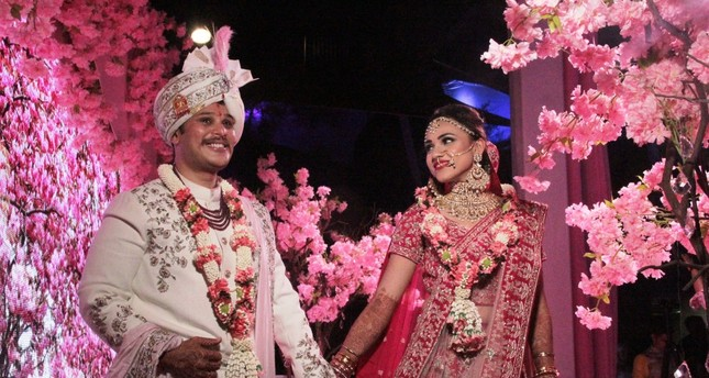 India, one of the two countries in the world with a population of more than 1 billion, ranks second in group events after the U.S. and first in wedding tourism.