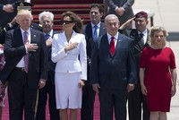 A video of U.S. President Donald Trump during his Israel visit has gone viral, which shows the president reaching out to hold First Lady Melania Trump's hand, only to be swatted away by his...