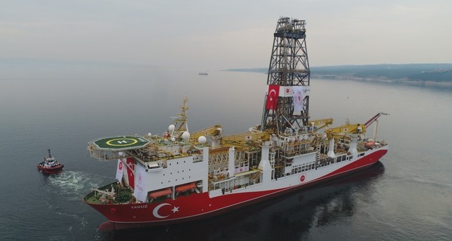 Turkey sent its second drilling vessel Yavuz to Eastern Mediterranean to begin exploration operations in the east of the island of Cyprus, June 20, 2019.